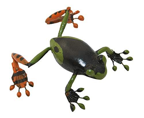 Aimant grenouille vert foncé - Pour réfrigérateur, collection ERRO - Motif grenouille