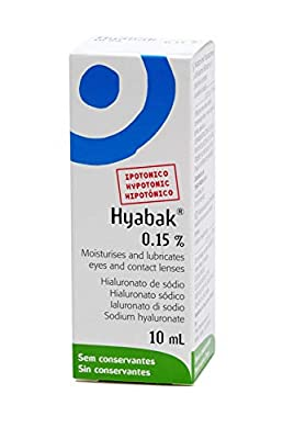 Hyabak Dry Eye Drops 10 ml