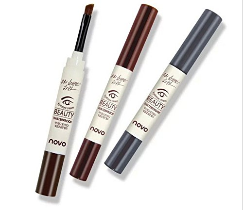 Absir Long-lasting Waterproof Eyebrow Cream Makeup Cosmetics Mascara Gel Eyebrow Pencil Enhancer with Brush