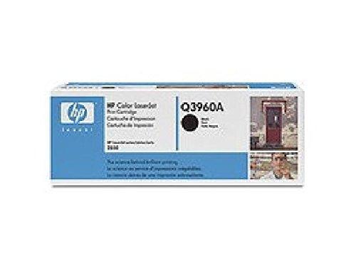 HP Q3960A - Cartucho de tóner HP 122A negro HP 122A Color: Negro/Rendimiento: 5000 páginas/paquetes: 1 pieza/caja para Color Laserjet serie 2550.