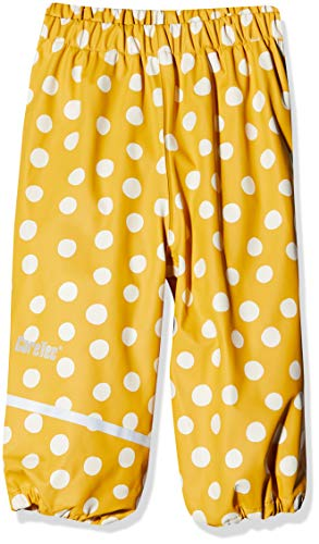 CareTec 550179 Pantalon imperméable, Mehrfarbig (Mineral Yellow 372), 12 mois