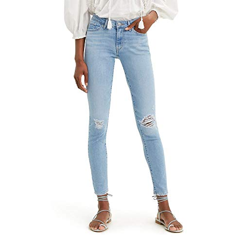 Levi's Women's 711 Skinny Jeans, Azure ray, 29 (US 8)