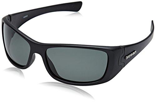 Ocean Sunglasses Sunset Beach - Gafas de Sol polarizadas - Montura : Negro Mate - Lentes : Ahumadas (14000.0)