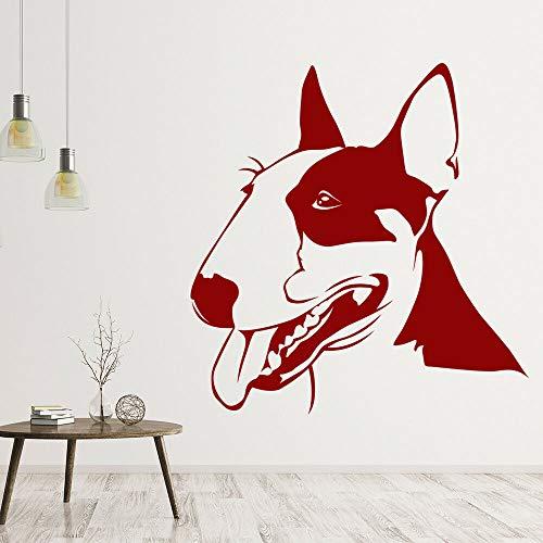 Opprxg Nursery Dog Dog Etiqueta de la Pared Habitación de los niños Pet Animal Wall Decal Decoración Pet 74x76cm