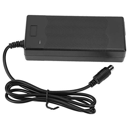 AYNEFY - Cargador de Scooter eléctrico 42 V-2000 MA, Cargador de Repuesto de Alto Rendimiento con indicador LED para los Scooters Xiaomi Mijia y Ninebot M365 ES1/ES2/2S3/ES4, EU