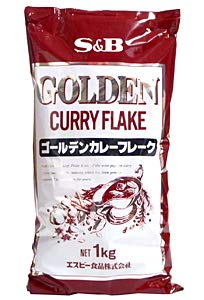 エスビー食品 SB ゴールデンカレーフレーク 1Kg ×20個