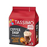 Tassimo Coffee Shop Salted Caramel Hot Chocolate Pods (1 Pack, 8 Servings)