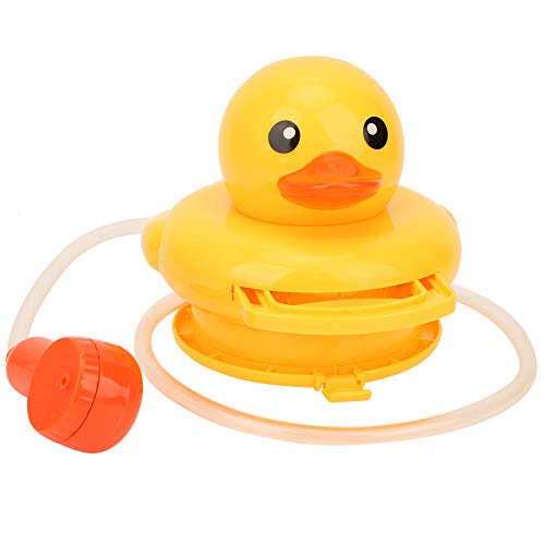Baby Bath Toys,Cute Duck Electric Water Spray Automatic Induction Bath Water Toy,Sprinkler Shower Bathtub Toys for Toddlers Kids Boys Girls,Fun Bath Toys for Toddlers