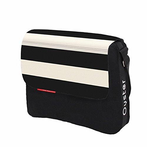 Vital Innovations ODCBHU Vogue Oyster Wickeltasche, schwarz/weiß