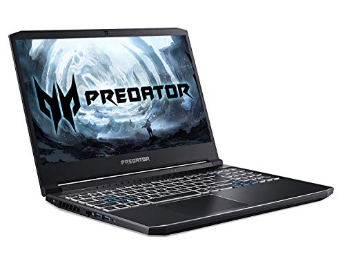 Acer Predator Helios 300 PH315-53 15.6 inch Gaming Laptop (Intel Core i7-10750H, 16GB RAM, 512GB SSD + 1TB HDD, NVIDIA RTX 3060, Full HD 144Hz Display, Windows 10, Black)