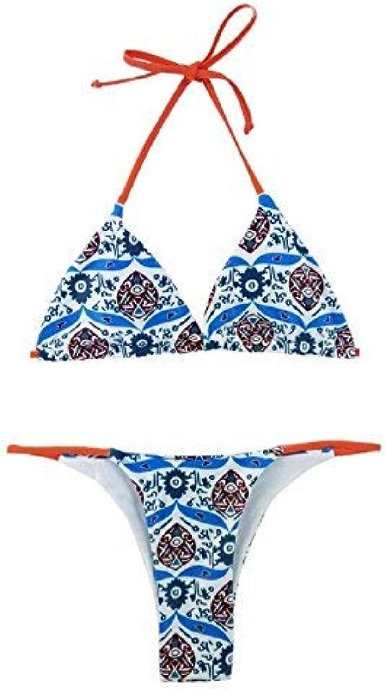 Women Sexy Bikini Swimsuit, Fancy,XL (color   As Shown, Size   One Size)
