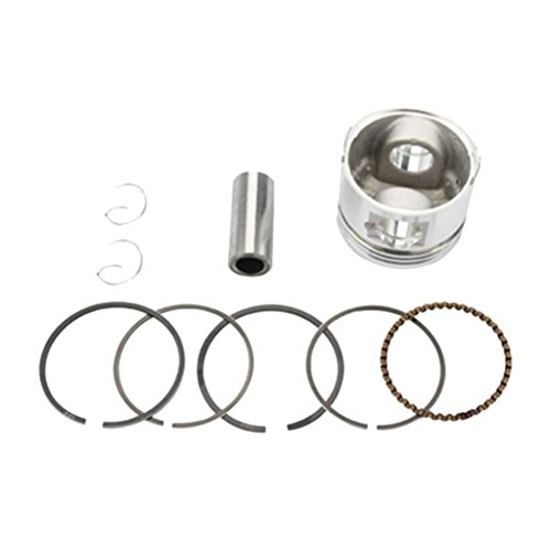Baoblaze 39mm Piston Ring Kit for GY6 50cc ATVs, Mopeds,Scooters, Go Karts