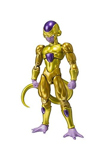 BANDAI–23147–Dragon Ball Z–Auferstehung F–Golden Freezer–Action Figur–Gelb