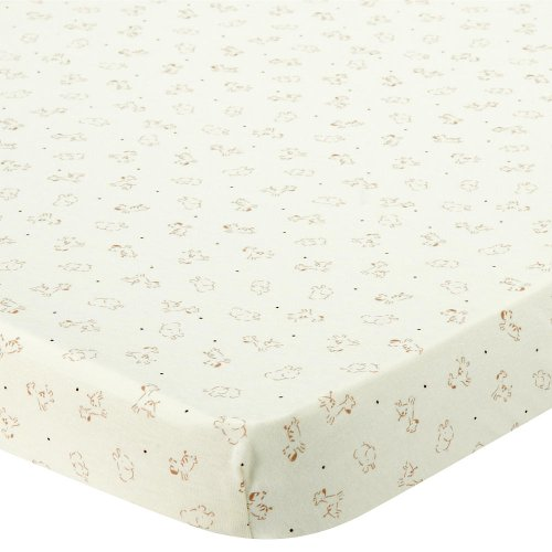 Babies R Us Knit Bassinet Sheet - Safari