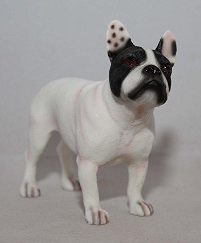 Figura de resina de Bulldog Francés pied vaquita