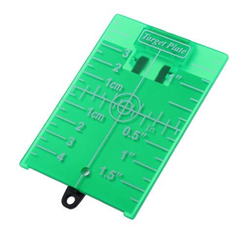 H HILABEE Zielscheibe Zieltafel Zubehör für Lasermessgeräte