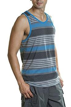 Best striped mens tank tops Reviews