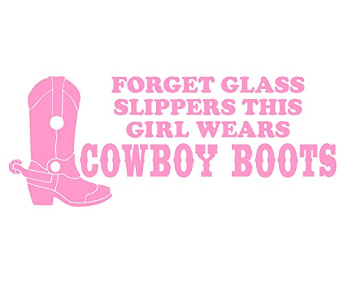 Forget Glass Slippers This Girl Wears Cowboy Boots (8-3/4