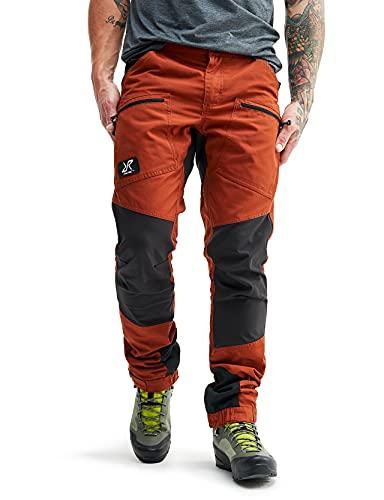 RevolutionRace Herren Nordwand Pro Pants, Hose zum Wandern und für viele Outdoor-Aktivitäten, Rusty Orange, S