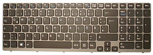 Original Tastatur Sony Vaio SVE151E11M Keyboard DE Neu weiss Mit Rahmen