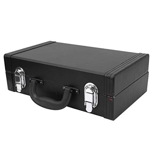 Klarinetten-Kunstleder-Etui, einfaches und elegantes Erscheinungsbild Höhere Sicherheit Angemessenes Design Klarinetten-Box für Musik-Player zum Musikspielen