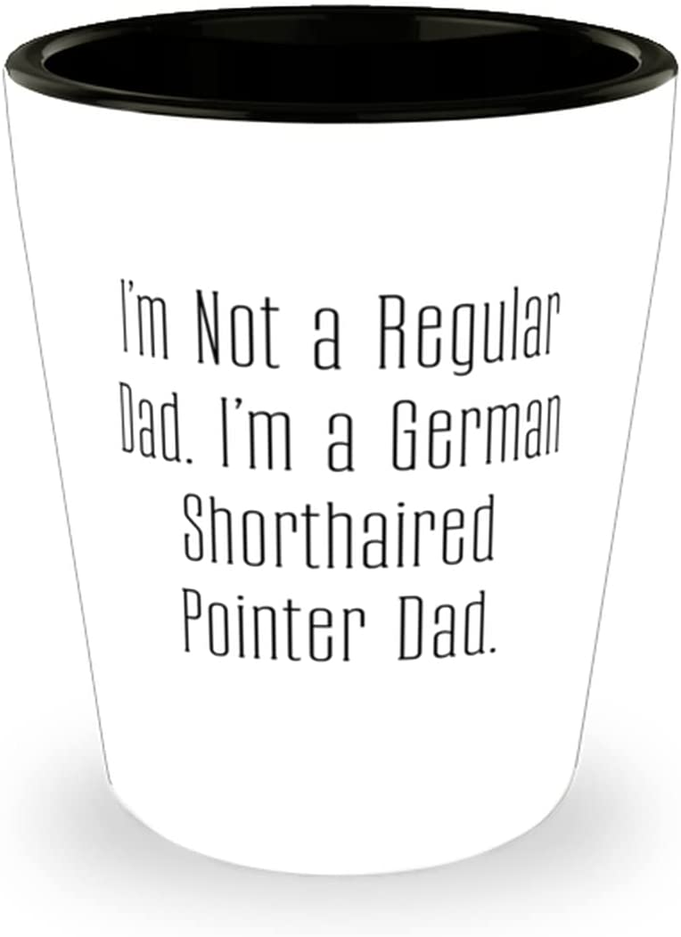 Attention brand I'm Not a Regular Dad. Animer and price revision German German. Shot Shorthai Glass