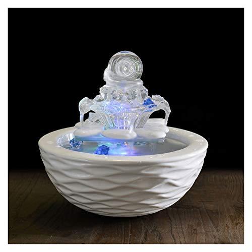 Hogar y Cocina Fuentes de Interior Fuente de cerámica Cubierta de Escritorio de Oficina Sala Decoración Fuente de Escritorio decoración del hogar