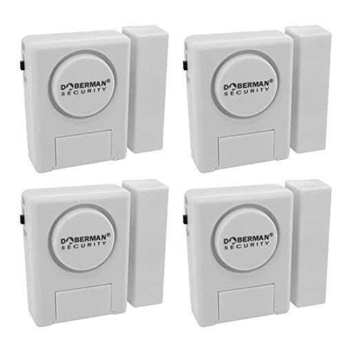 Kit de alarma de seguridad modelo Wer, Doberman Alarma