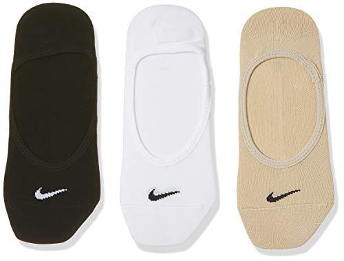 Nike Damen Socken No Show Lightweight 3er Pack, Mehrfarbig, S