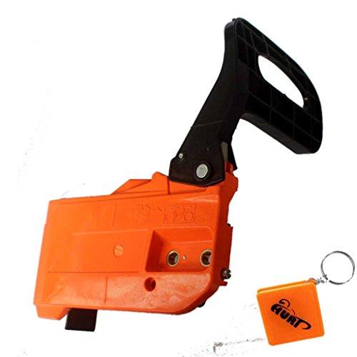 HURI Kettenraddeckel Kettenbremse Kettensäge passend für Motorsägen mit 45, 52, 58 ccm 2-Takt-Motor Powermat Erman Timbertech Plantiflex