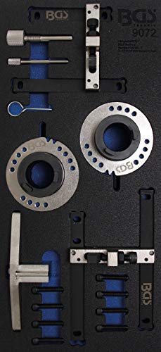 BGS 9072 | Werkstattwageneinlage 1/3: Motor-Einstellwerkzeug-Satz | für Ford 1.0, 3-Zylinder Ecoboost