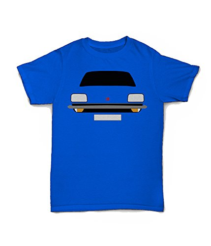 Retro Motor Company Vauxhall Chevette Customisable T-Shirt Blue
