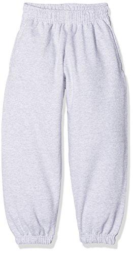 Fruit of the Loom Jungen Classic Elasticated Cuff Jog Pants Kids Sporthose, Grau (Heather Grey 123), 164 (Herstellergröße: 14-15)