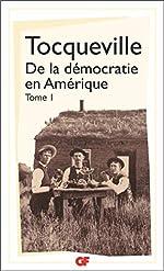 De la démocratie en Amérique, tome 1 d'Alexis de Tocqueville