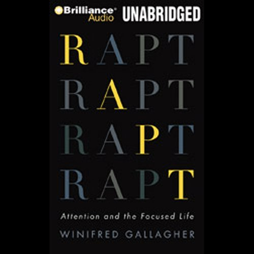 Rapt audiobook cover art
