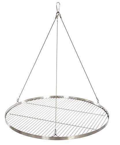 70 cm Grillrost Edelstahl für Schwenkgrill 3 Bein BBQ Grill Rost mit Seil neu