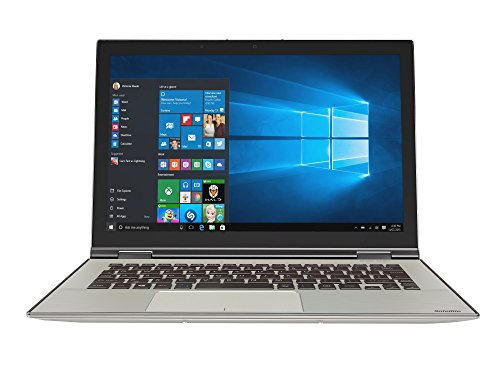 Toshiba Satellite Radius 12 P20W-C-106 31,8 cm (12,5 Zoll Ultra HD 4k) Convertible Laptop (Intel Core i7 6500U, 8GB RAM, 256GB SSD, Intel HD Graphics 520, Win 10) silber