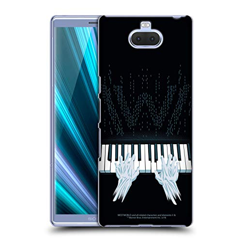 Head Case Designs Offizielle Westworld Piano Grafiken Harte Rueckseiten Handyhülle Hülle Huelle kompatibel mit Sony Xperia XA3 Ultra / 10+