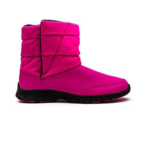 Polo Ralph Lauren Jungen, Mädchen Stiefel DRAEDEN Synthetik pink, EU 33