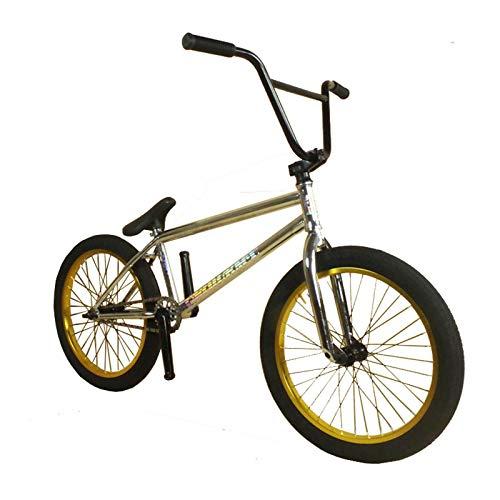 LJLYL Vélo BMX pour Adolescents et Adultes, Roues de 20 Pouces, du Niveau débutant au Niveau avancé, Cadre en Acier CR-Mo 4130, engrenage BMX 25 × 9T
