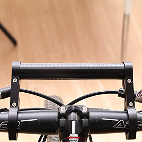 Bicycle Extender Mount MTB Flashlight Lamp Holder Bike Handlebar Extension 15cm