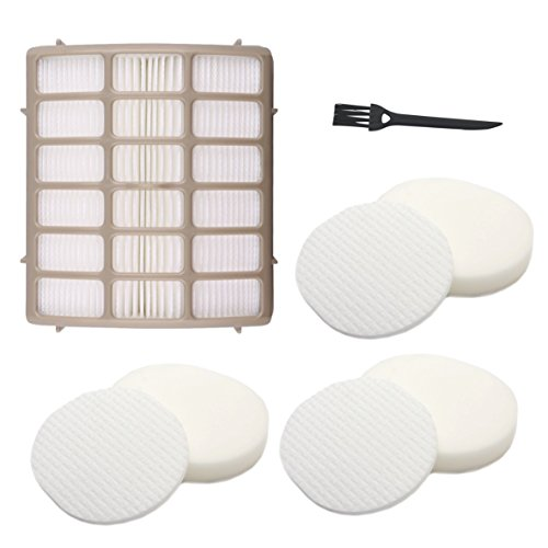 3 Foam & Felt + 1 Hepa Filters, Shark Navigator Rotator Professional Upright Vacuum NV70 NV71 NV80 NVC80C NV90 NV95 UV420 Filter Kit Replacement Part XFF80 XHF80