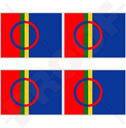 SAMI MENSELIJKE Vlag Saami Lapps, SAPMI Lapland 2