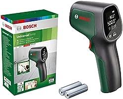 Bosch infraröd termometer UniversalTemp (temperaturområde: –30°C till +500°C, 2x AA-batterier, i kartong)