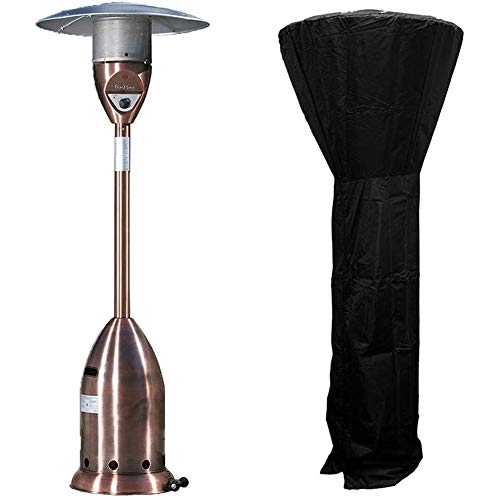 Stand-Up Patio Heater Cover, Waterproof with Zipper, Heavy Duty Oxford Waterproof Heater Covers for Outdoor Heaters, Breathable Material, Anti-UV, Garden Courtyard Outside,240x92x59CM