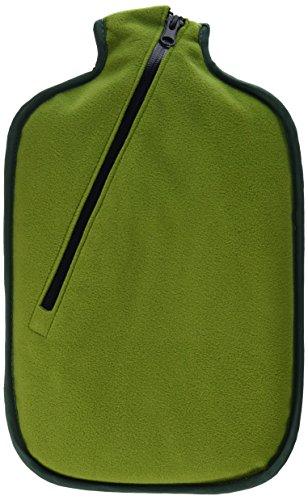 Hugo Frosch Eco Classic Comfort with Softshell Cover and Insulating Zip Wärmflasche, Bambus, Einheitsgröße