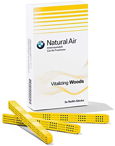BMW Natural Air coche ambientador Vitalizing maderas Kit de recarga (83122285677)