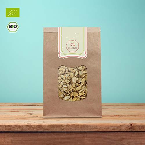 süssundclever.de | Bio Cashewbruch | Cashewkerne | Cashewstücke | 1kg | plastikfrei und...
