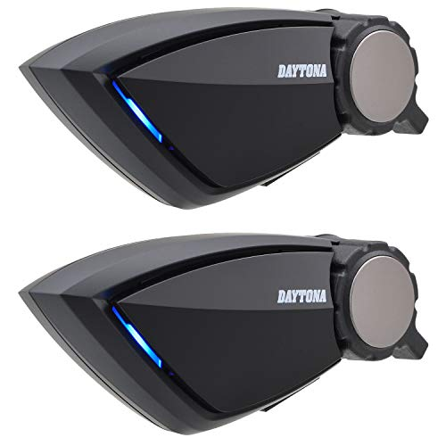 デイトナ バイク用 インカム 2個セット 4人通話 最大800m通信 通話自動復帰 Bluetooth DT-E1 (ディーティーイーワン) 99114