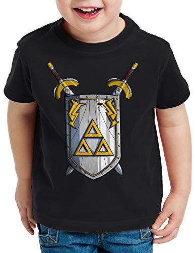 style3 Link to The Past Espada Camiseta para Niños T-Shirt Hyrule SNES NES